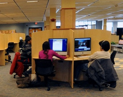 evansdale library