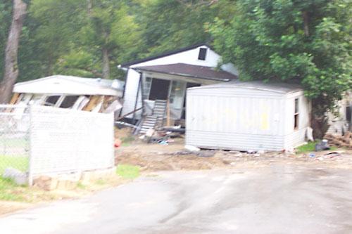 flood damage photo