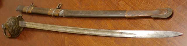 Scabbard and Sword