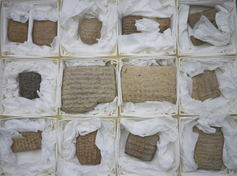 Cuneiform tablets from Mesopotamia