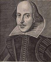 Portrait of William Shakespeare