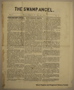 Swamp Angel May 26 1864 page 1