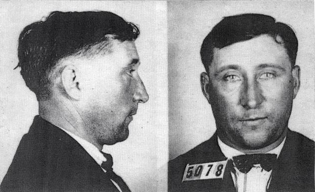 Mugshot of Harry Powers