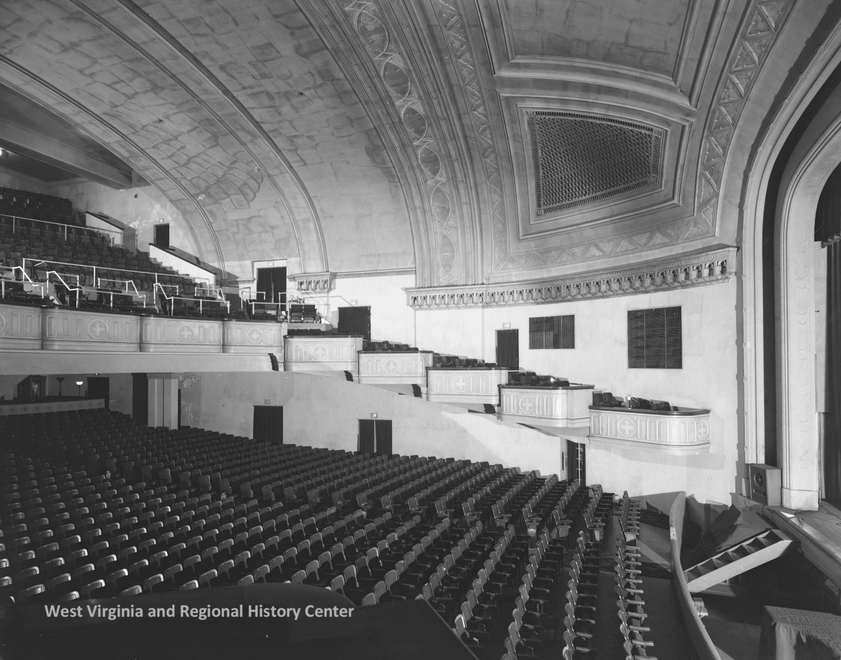 Interior of Kearse Theater in Charleston, WV