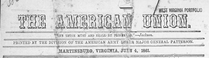Masthead of the American Union Newspaper