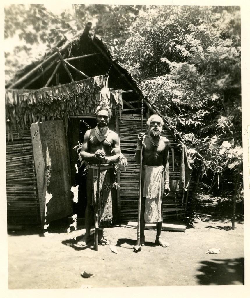 Native Chiefs, New Hebrides.