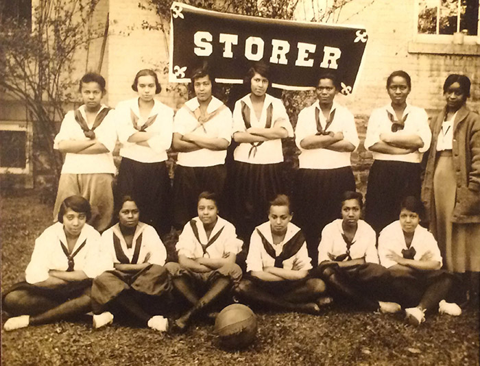 Storer College girls basketball team 1920