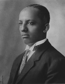 Portrait of young Carter G. Woodson