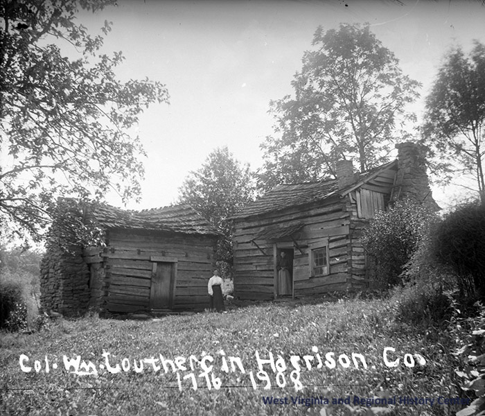 Home of Colonel William Lowther (1742-1814) of Harrison County