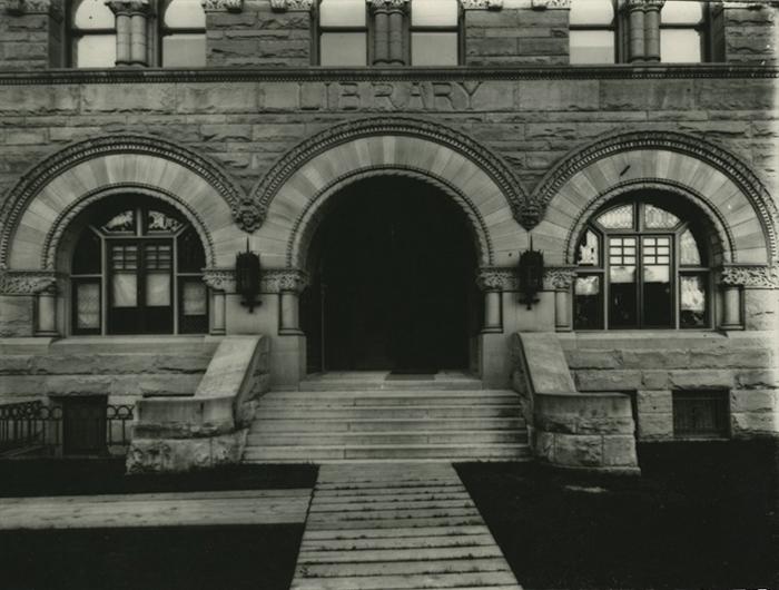 Facade of Stewart Hall