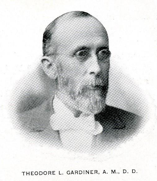 Portrait of Theodore Gardiner