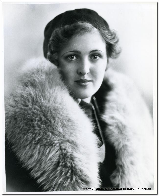 Unidentified Woman Wearing a Fur Coat, Grafton, W. Va.