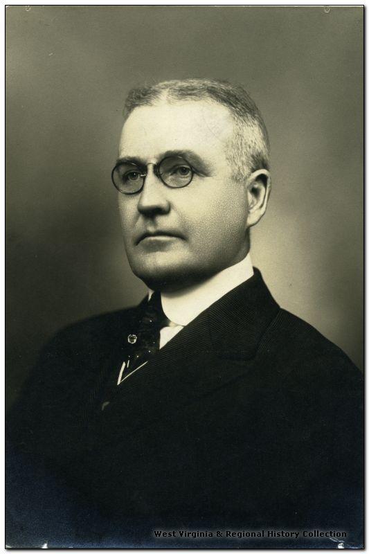 Portrait of WVU President Frank Butler Trotter