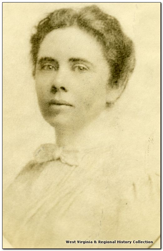 Portrait of Librarian Pauline Wiggin Leonard