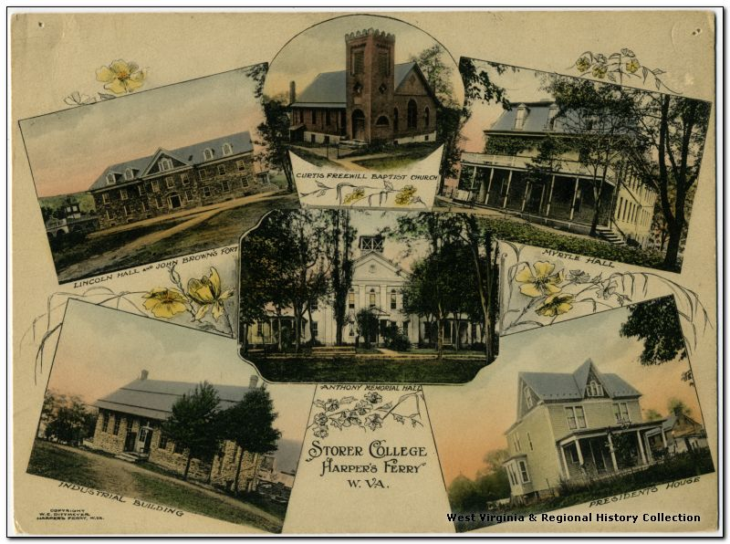 Various Buildings at Storer College, Harpers Ferry W. Va.