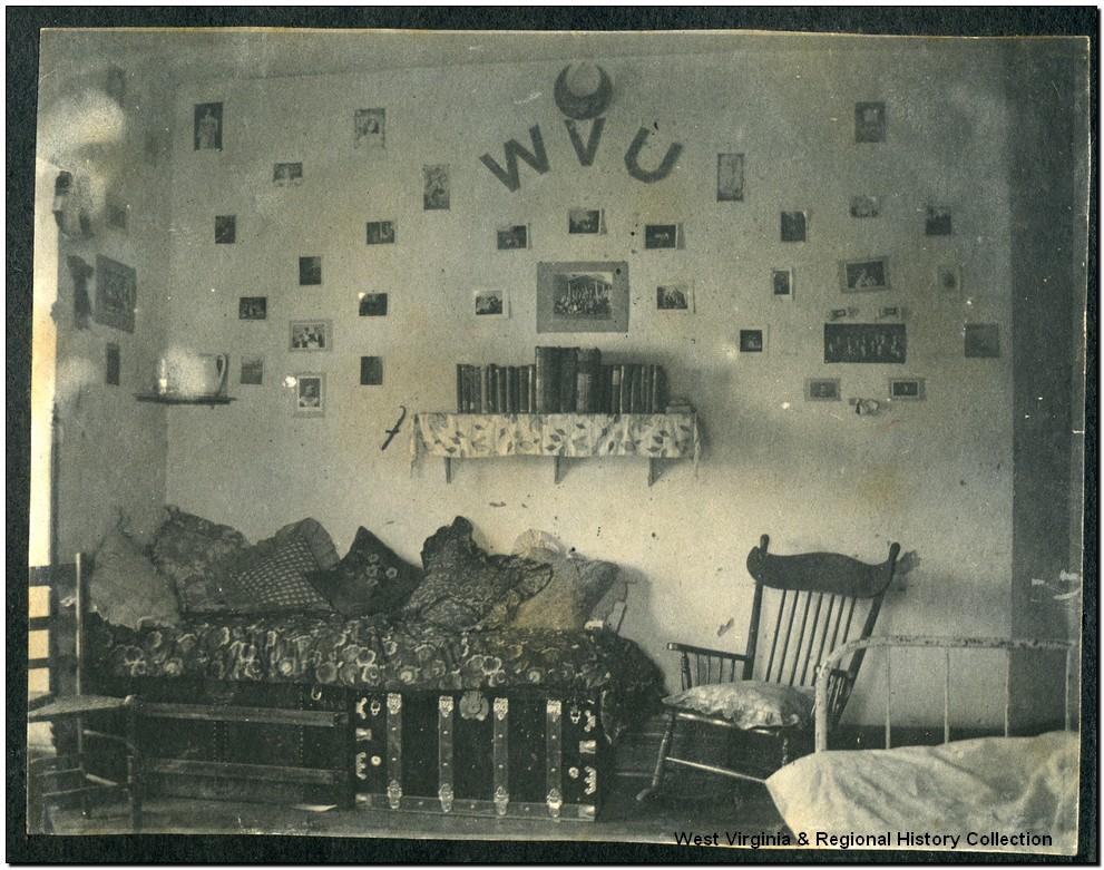 Dorm Room in Episcopal Hall, West Virginia University, Morgantown, W, Va.