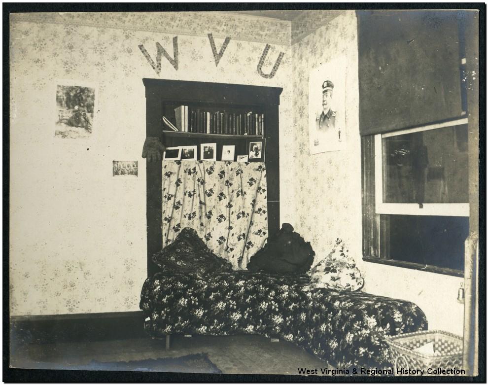 Men's Dormitory Room in Episcopal Hall, West Virginia University, Morgantown, W. Va.