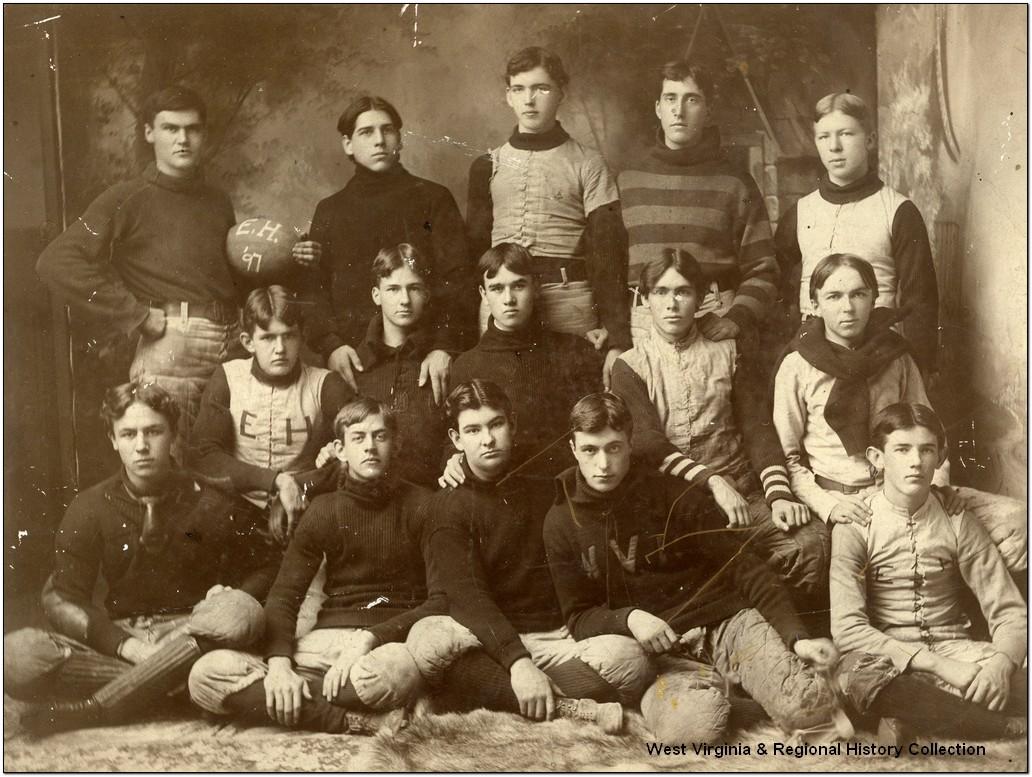 Episcopal Hall Football Team at West Virginia University