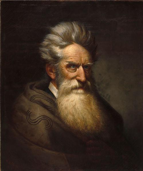 Ole Peter Hansen Balling's painting of John Brown