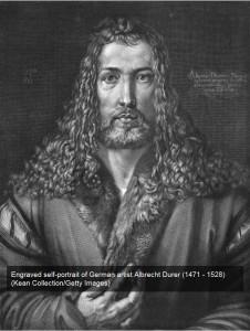 Self-portrait of Albrecht Durer