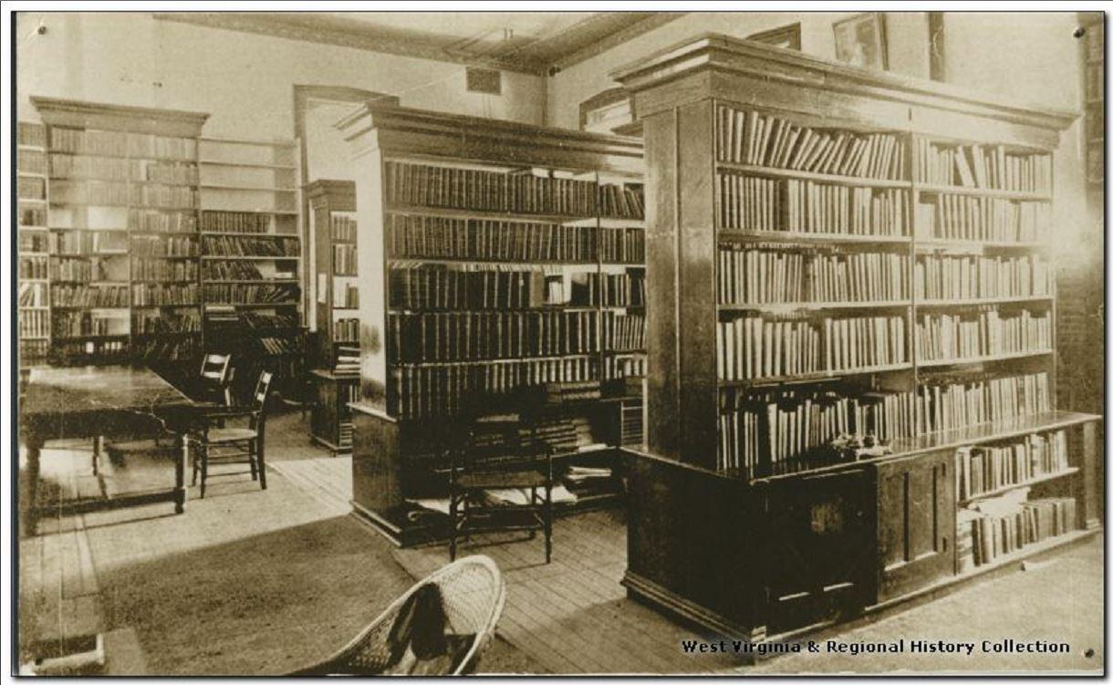 Martin Hall Library, West Virginia University