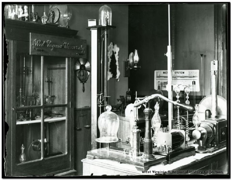 Physics Lab Equipment In Chitwood Hall, West Virginia University