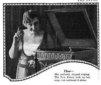 Betsy Lane Shepherd in an advertisement