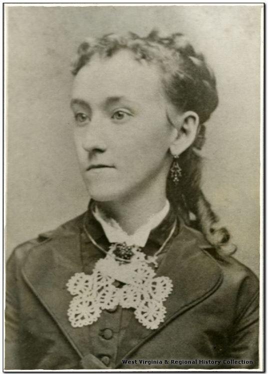 Librarian Clara Hough, West Virginia University