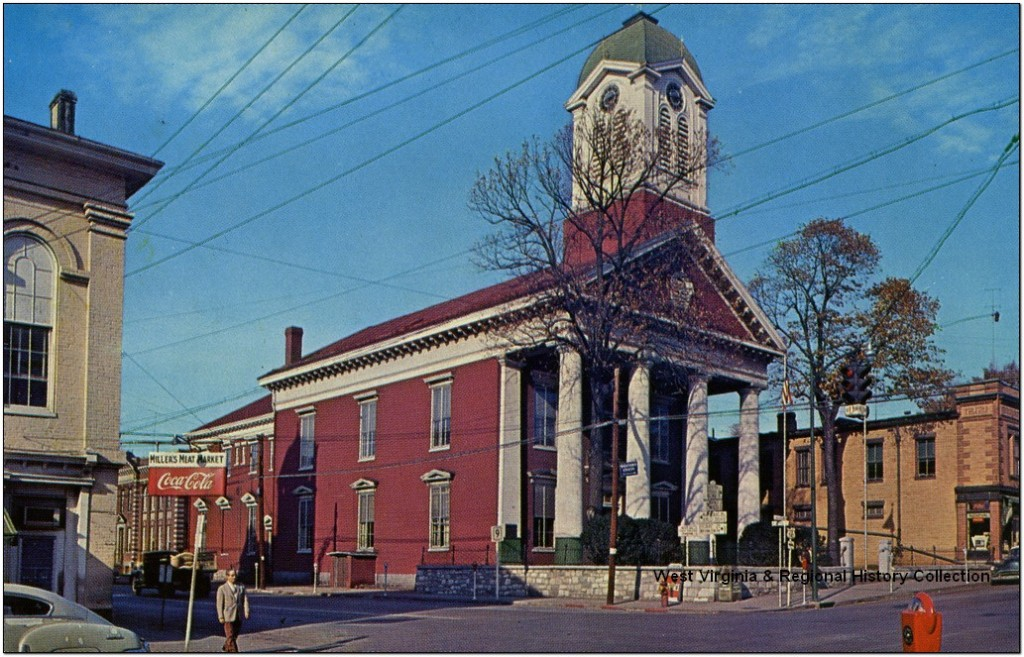 Jefferson County Courthouse in Charles Town, W. Va.