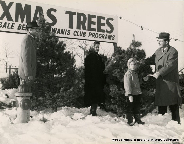 Kiwanis Club Christmas Tree Sale