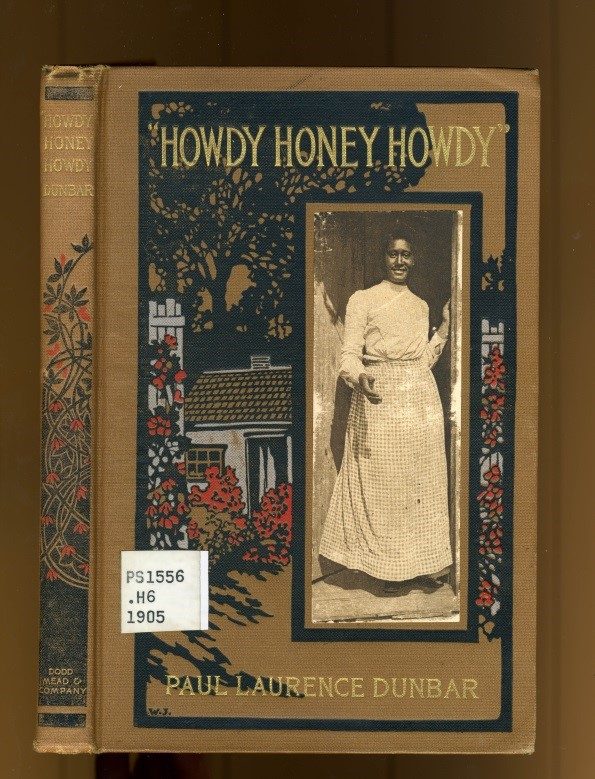 Cover of book Howdy Honey, Howdy, showing African-American woman in front of house