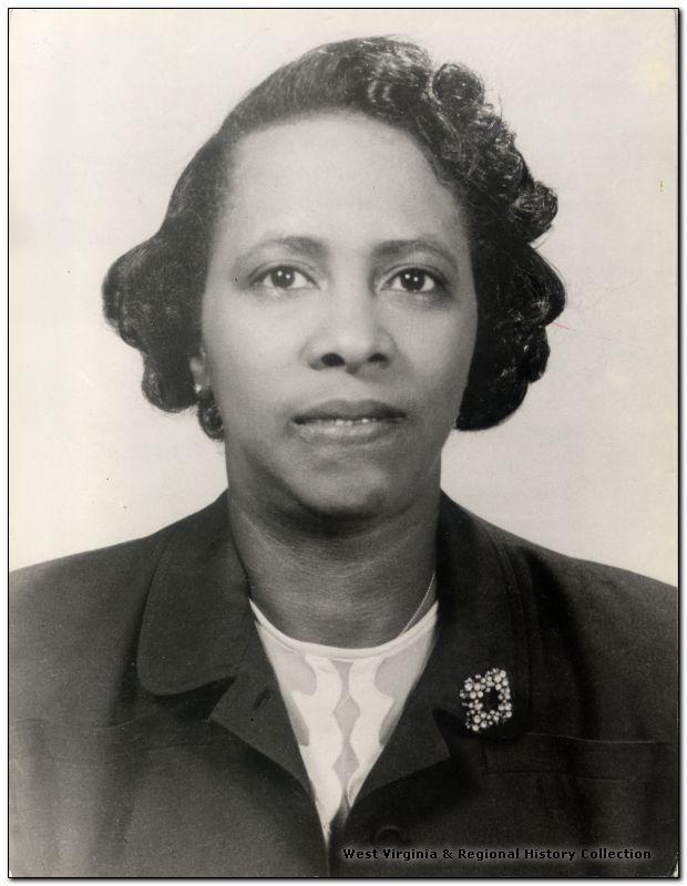 Portrait of Victorine Louistall Monroe