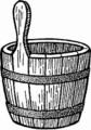 Piggin (bucket with handle)