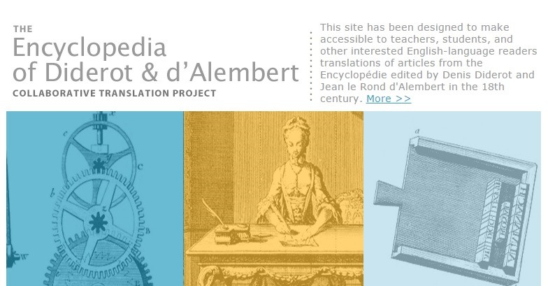 Graphic for Encyclopedia Collaborative Translation Project Site