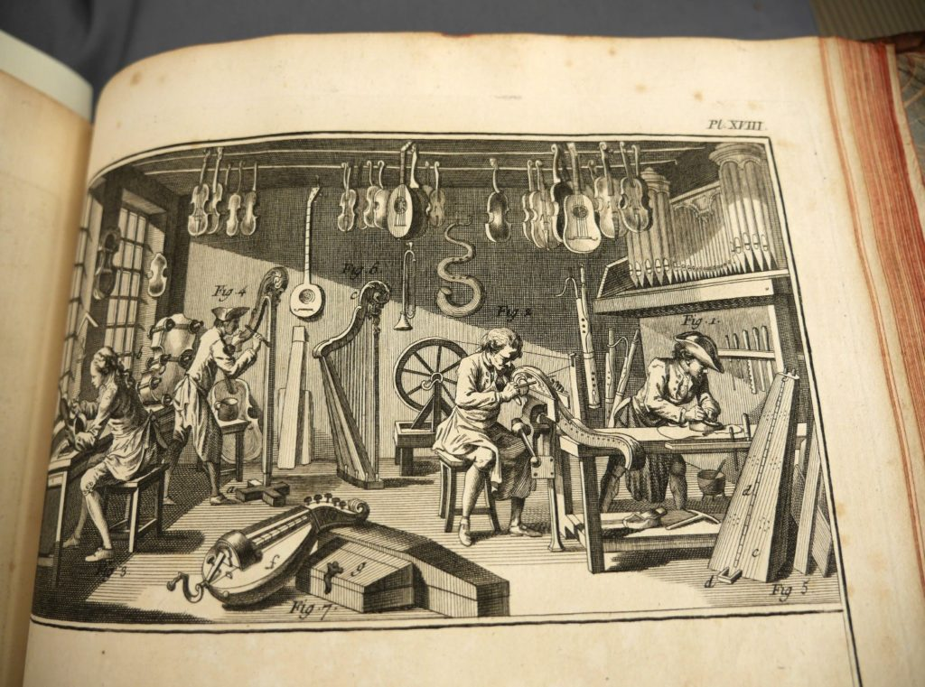 Plate depicting workers making barrels