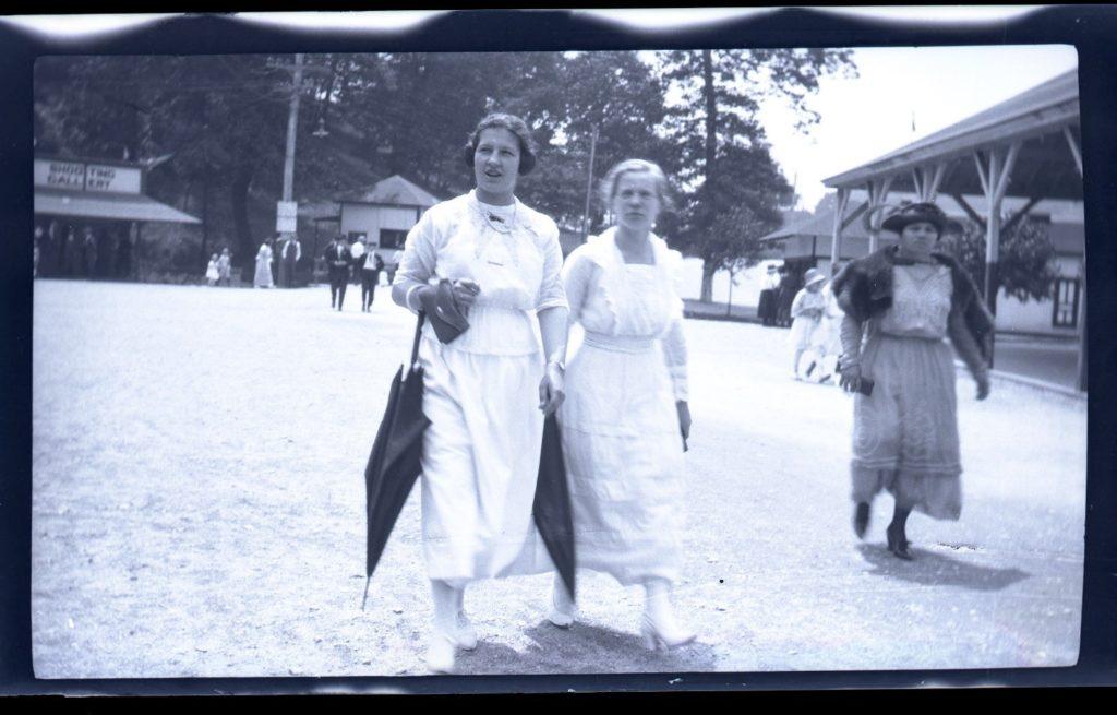 Women walking down the Oakford Park Promenade