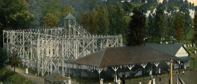 Historical Photographs of Amusement Park Discovered