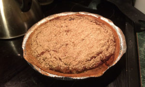 Whole shoofly pie