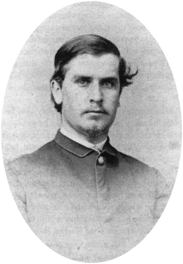 Portrait of William McKinley in 1865