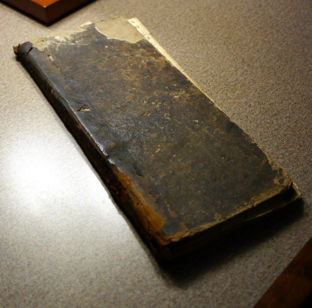 Daybook of Sanford Pickenpaugh, 1838-1840