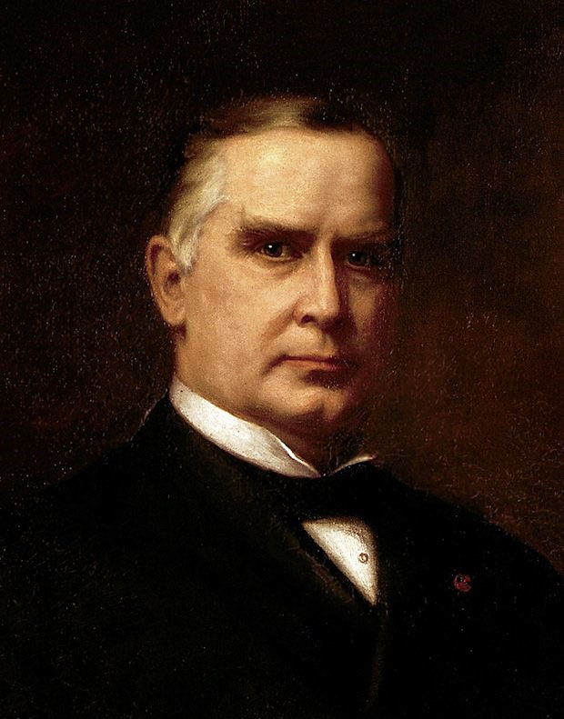 Portrait of President William McKinley