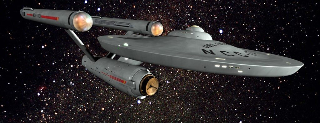 Star Trek ship USS Enterprise