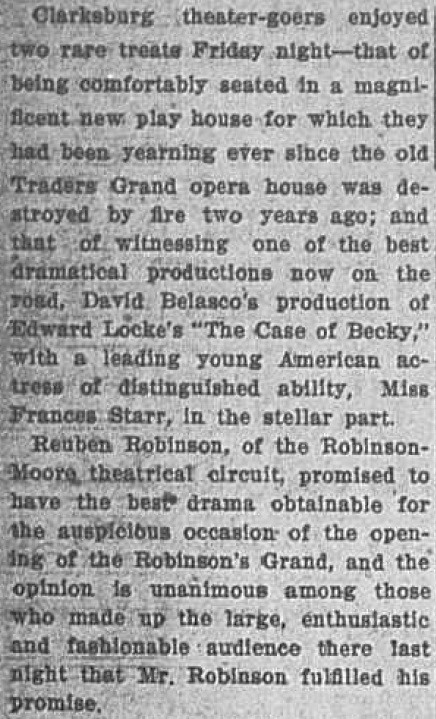 "Excerpt of review of ""The Case of Becky,"" 8 February 1913"