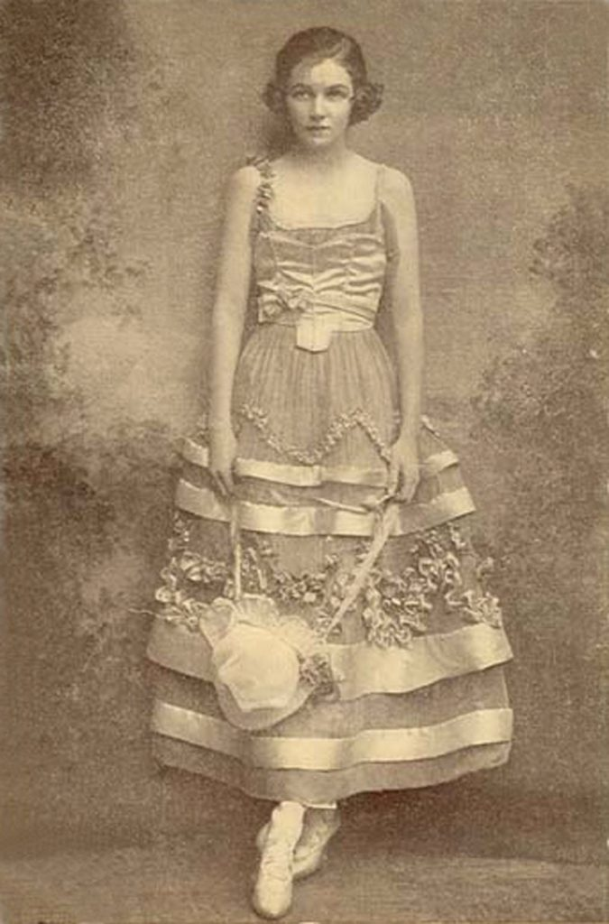 "Irene Castle in costume for ""Watch Your Step"", 1914. (photograph from Wikipedia)"