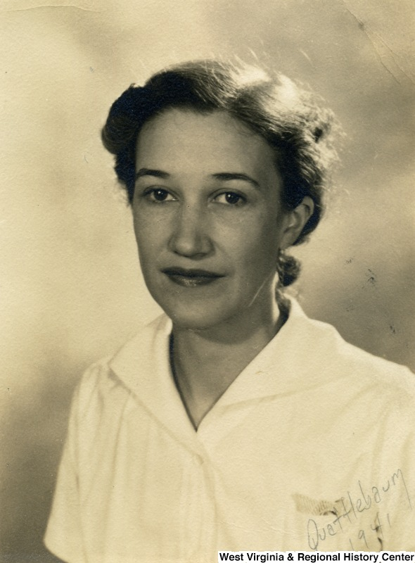 Portrait of Louise McNeill in 1941