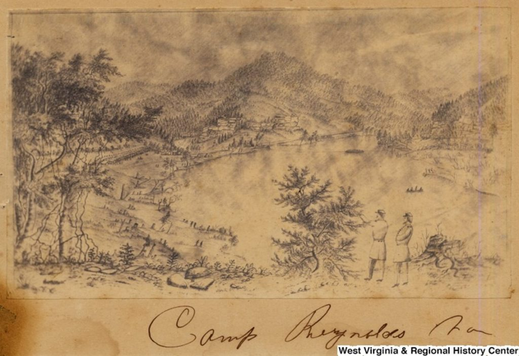 Sketch of Camp Reynolds