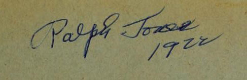 Signature of Ralph Jones
