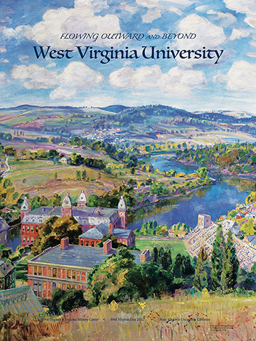 Preview of WVRHC's 2017 WV Day poster