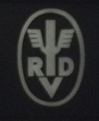 RVD or RDV logo from a film strip