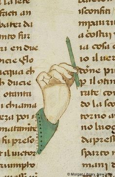 fancy manicule